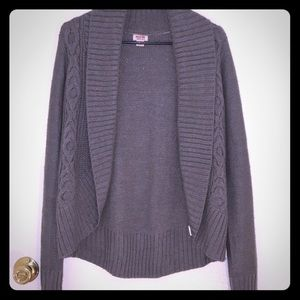 Sweaters - Medium Gray Sweater Cardigan